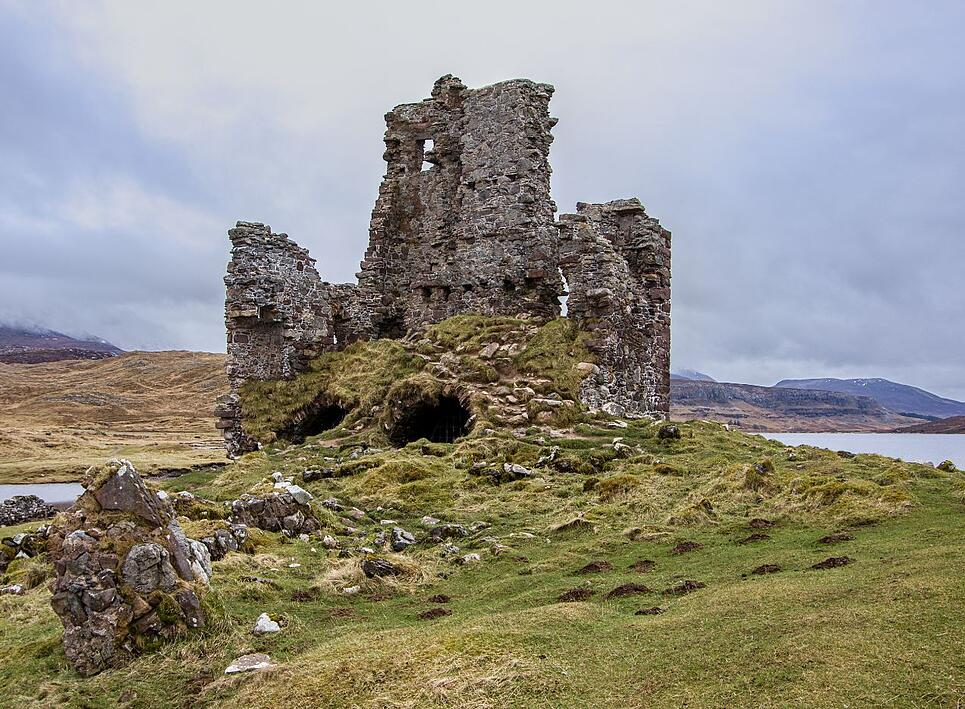 Ardvreck Castle - Lochinver, Scotland