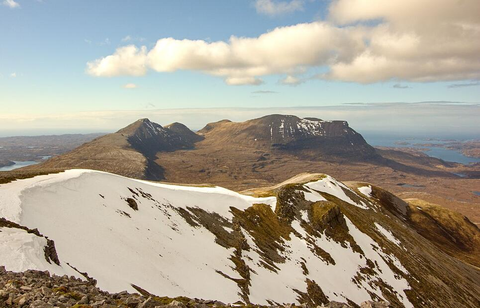 Mountains in Assynt - Scotland