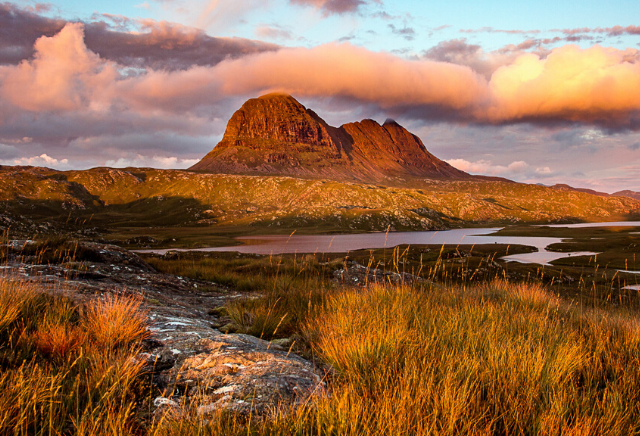 Suilven photographed by Lochinver Landscapes