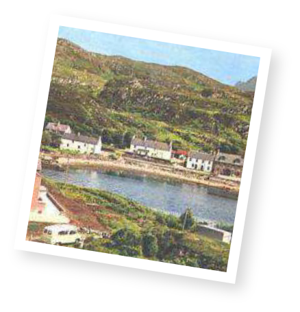 The history of Lochinver, Scotland