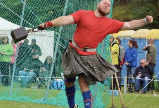 Highland Games - Lochinver, Scotland